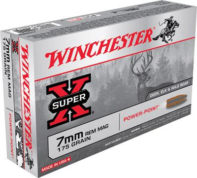 Winchester Ammo Super X 7mm Rem | Elk Bomb Shooting Supplies LLC
