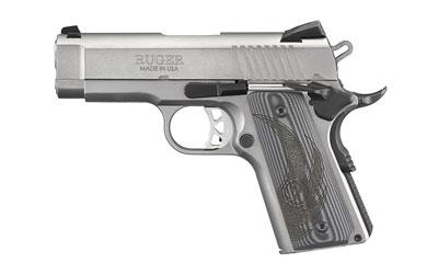 "Ruger Sr1911 .45 ACP 3.6"" S/S"