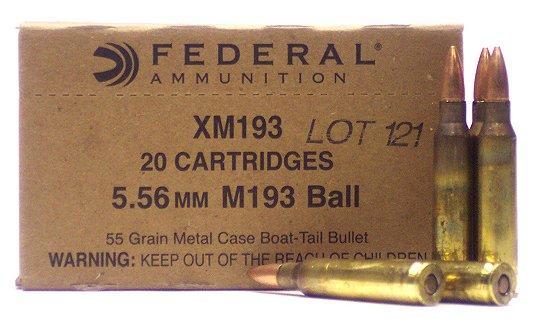 Federal XM 223 Remington/5.56 Nato Boat