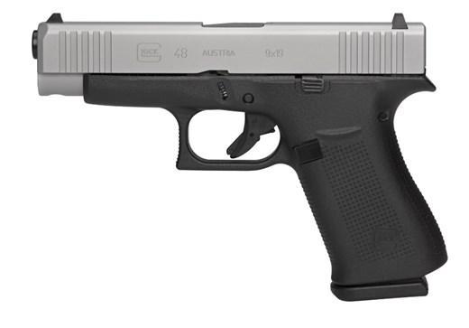 Glock 48 9mm 10rd GNS Silver