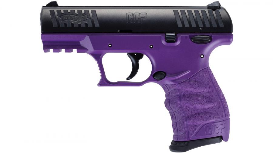 """CCP Purple 9MM 3.5"""" 8RD Semi"""