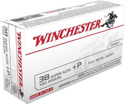 Winchester Ammo USA 38 Super Full