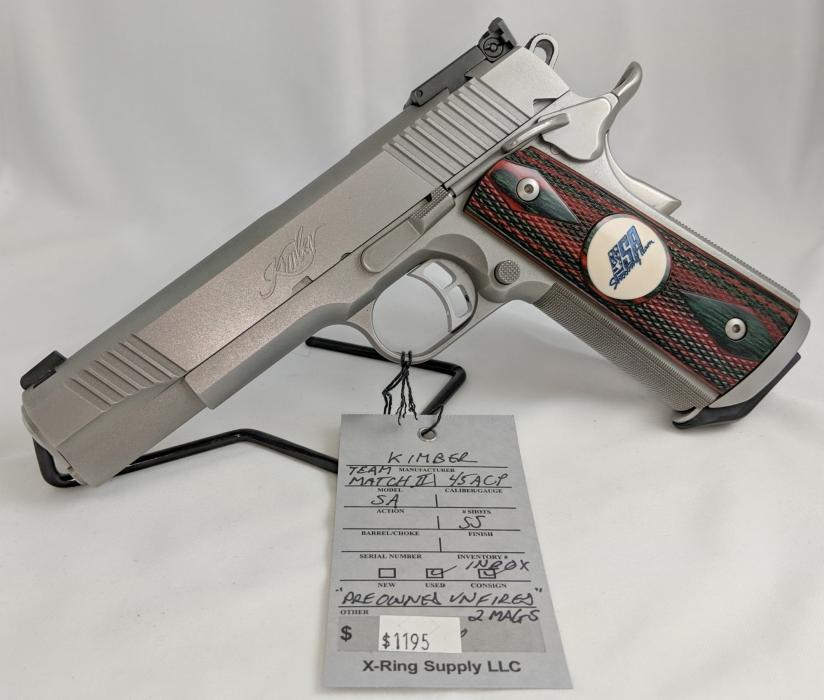 Kimber Team Match II (a-2713)