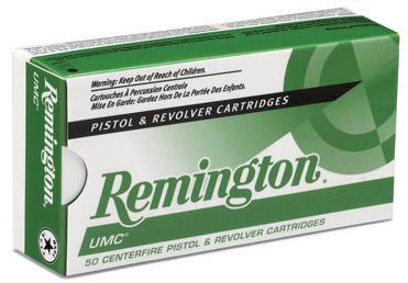 Remington Ammunition UMC 38 Special Metal