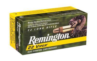 Remington Ammunition Viper 22 LR Truncated