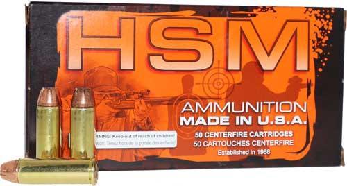 Hsm Ammo .44 Rem. Mag. 300gr.