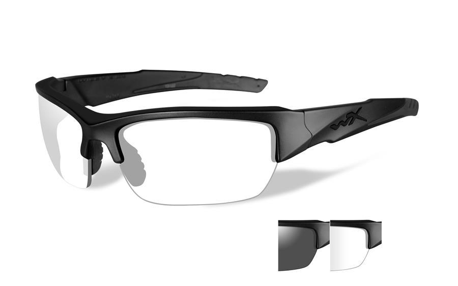 Valor Grey/clear Lens/matte Black Frame