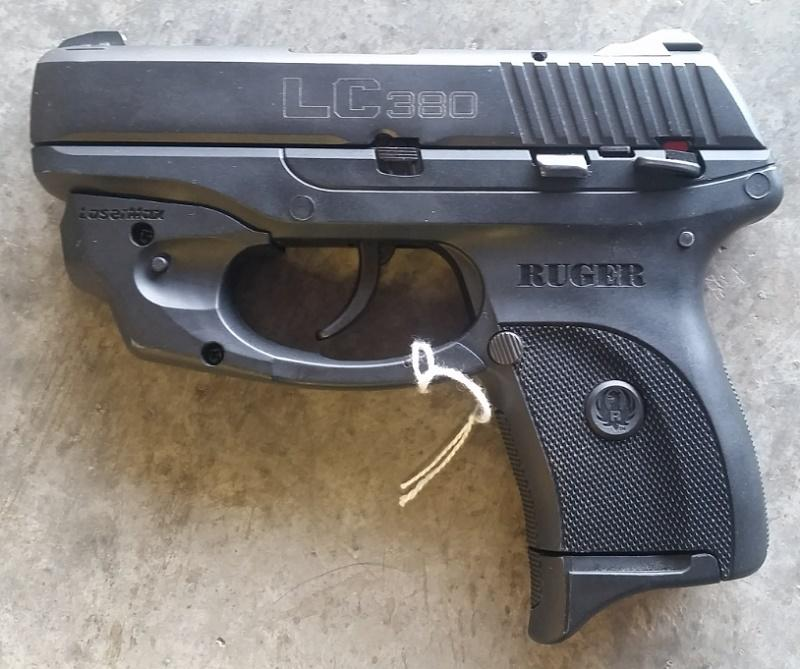 Pre-owned Ruger Lc380 .380 AP Pistol