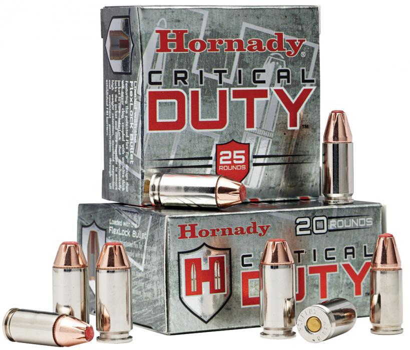 Hornady Critical Duty 9mm Flexlock 135