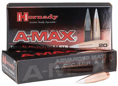 Hornady A-max 30 168 gr 100