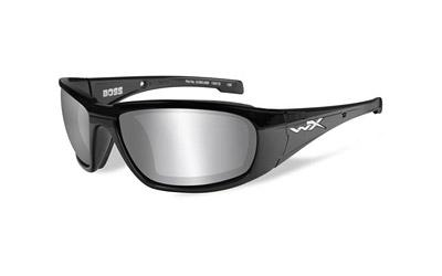 Wiley X Boss Smk Gry/blk Frame