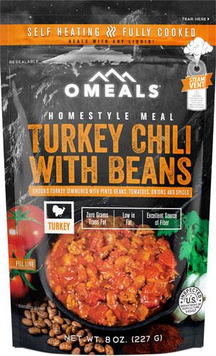 Omeals Turkey Chili W/ Beans