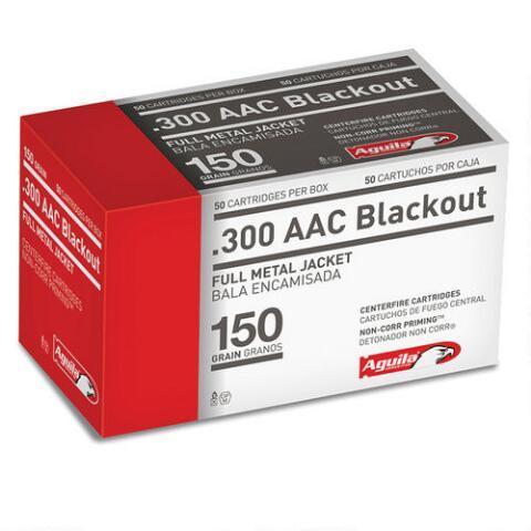 Aguila 1e300110 300 AAC Blackout/whisper (7.62x35mm)