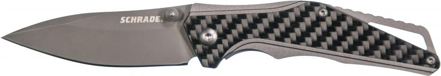 Schrade Clip Folder Steel Handle With