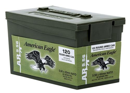 Federal Xm855 Green TIP 600rd Case