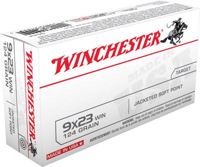 Winchester Ammo USA 9mmx23mm Win Jacketed