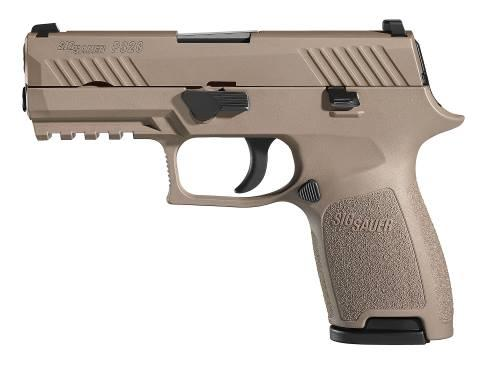 Sig P320c Compact 9mm FDE 10+1