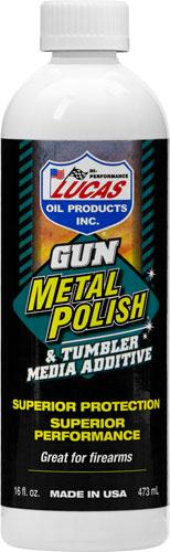 Lucas Oil 16oz Gun Metal Polsh