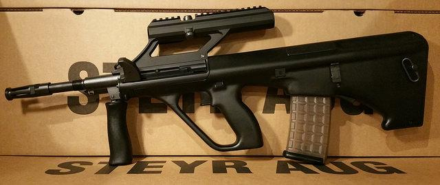 Steyr Arms Black AUG 3.0x Scope