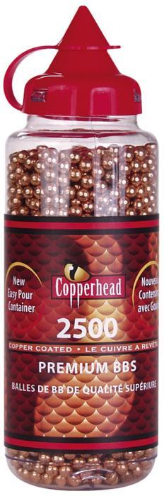Crosman Copperhead BBs .177 Copper-coated Steel