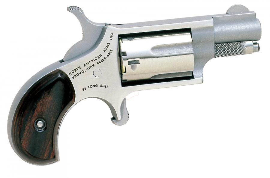 "NAA Mini-revolver 1.12"" 5rd Rosewood Grip"