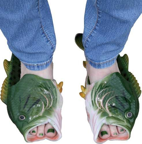Rivers Edge Bass Fish Sandals