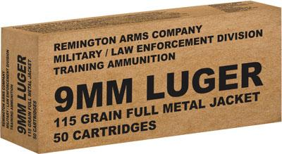 Rem Ammo Brown Box 9mm Luger