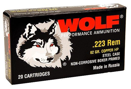 Wolf Performance 223 Remington/5.56 Nato Bimetal
