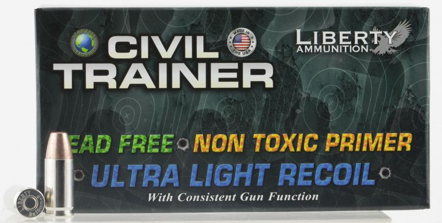 Liberty Ammunition Latr9048 Civil Trainer 9mm