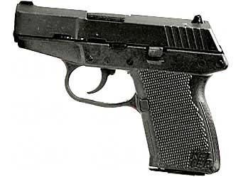 "Kel-tec P-11 9mm 3.1"" Bl/gry 10rd"