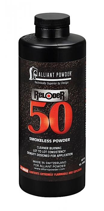 Alliant Reloder 50 Rifle Powder 1LB