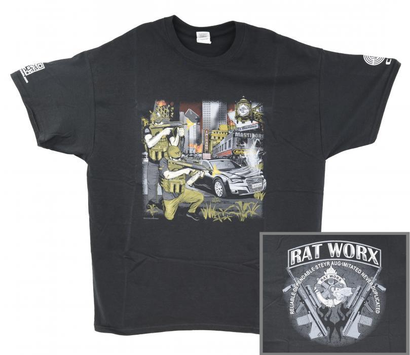 RAT Worx Steyr Aug T-shirt (large)