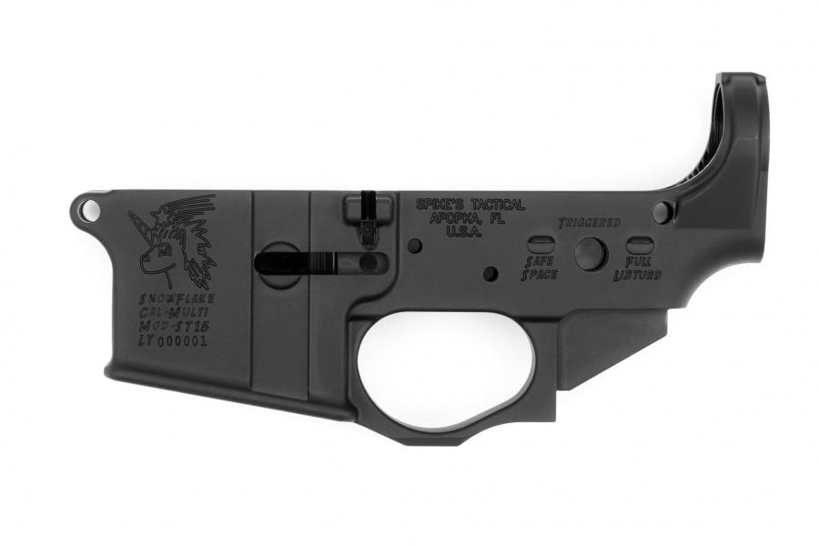 Spikes Tactical Snowflake Stripped Lower