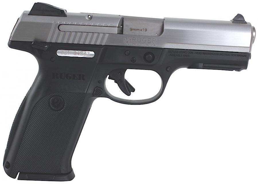 """Ruger SR9 Standard 9mm 4.1"""" 17+1"""